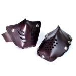 Leather Motorcycle Face Masks by Sunday Academy_5