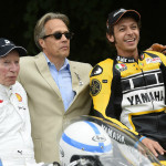 Rossi Attends the 2015 Goodwood Festival of Speed with Yellow-Black Yamaha YZR M1_10