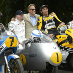 Rossi Attends the 2015 Goodwood Festival of Speed with Yellow-Black Yamaha YZR M1_12