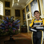 Rossi Attends the 2015 Goodwood Festival of Speed with Yellow-Black Yamaha YZR M1_2