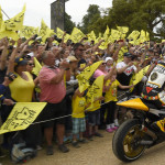Rossi Attends the 2015 Goodwood Festival of Speed with Yellow-Black Yamaha YZR M1_3