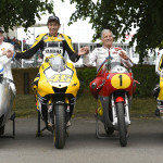 Rossi Attends the 2015 Goodwood Festival of Speed with Yellow-Black Yamaha YZR M1_5