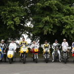 Rossi Attends the 2015 Goodwood Festival of Speed with Yellow-Black Yamaha YZR M1_6