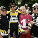 Rossi Attends the 2015 Goodwood Festival of Speed with Yellow-Black Yamaha YZR M1_8