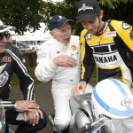 Rossi Attends the 2015 Goodwood Festival of Speed with Yellow-Black Yamaha YZR M1_9
