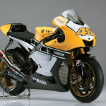 Yellow-Black Yamaha YZR M1