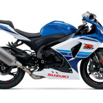 2016 Suzuki GSX-R1000 Commemorative Edition White and Blue
