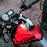 2016 Victory Empulse TT All-Electric Motorcycle Charging