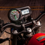2016 Victory Empulse TT All-Electric Motorcycle LCD Display