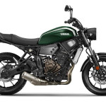 2016 Yamaha XSR700 Forest Green_1