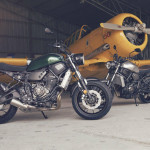2016 Yamaha XSR700 Retro-styled Streetbike