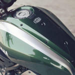 2016 Yamaha XSR700 Retro-styled Streetbike Forest Green Fuel Tank