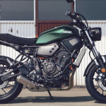 2016 Yamaha XSR700 Retro-styled Streetbike Forest Green_4