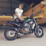 2016 Yamaha XSR700 Retro-styled Streetbike Forest Green_6