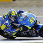 Aleix Espargaro Team Suzuki Ecstar in Action
