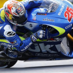 Maverick Vinales Team Suzuki Ecstar in Action