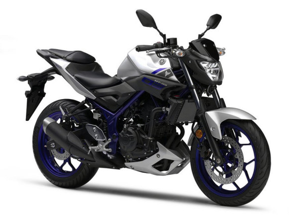 Yamaha Confirms 2016 Yamaha MT-03 Matt Silver
