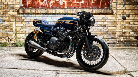 Yamaha Yard Built XJR1300 Cafe Racer by Iron Heart