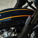 Yamaha Yard Built XJR1300 Cafe Racer by Iron Heart Orange Stitching