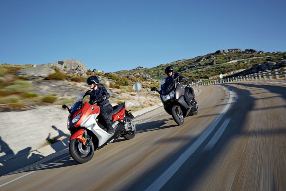 2016 BMW C650 Sport and C650 GT