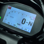 2016 Ducati Monster 1200R Instrument Display