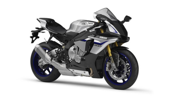 2016 Yamaha YZF-R1M Silver Blu Carbon