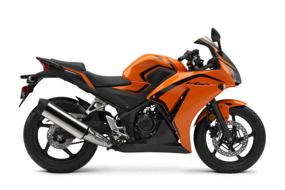 2016 Honda CBR300R Candy Orange Matte Black