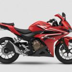 2016 Honda CBR500R Millennium Red
