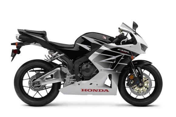 2016 Honda CBR600RR Black White