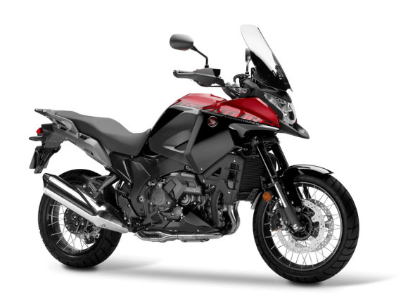 2016 Honda VFR1200X Candy Prominence Red and Graphite Black