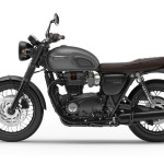 2016 Triumph Bonneville T120 Black Matt Graphite