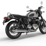 2016 Triumph Bonneville T120 Jet Black and Pure White
