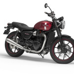2016 Triumph Street Twin Cranberry Red