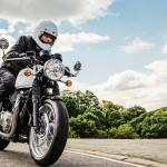 2016 Triumph Thruxton In Action