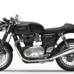 2016 Triumph Thruxton Jet Black Right Side