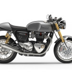 2016 Triumph Thruxton R Silver Ice Right Side