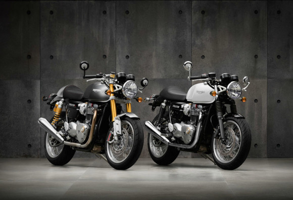 2016 Triumph Thruxton and Thruxton R
